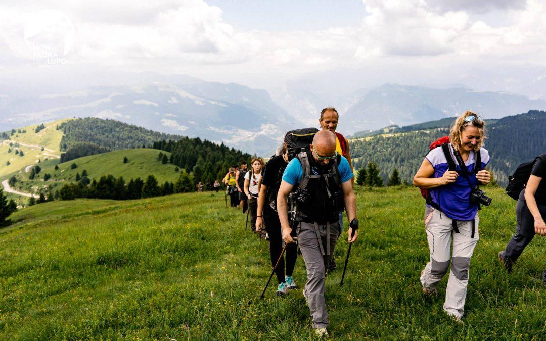 Workshop didattico sul lupo nel Monte Grappa 14/16 Giugno 2018