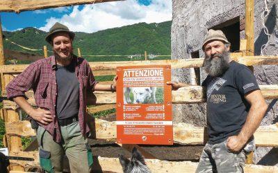 I nostri cartelli agli allevatori di Appennino e Alpi
