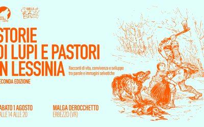 Storie di lupi e pastori in Lessinia – Seconda Edizione – 1 Agosto 2020